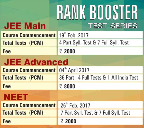 Notification Rank Booster Test Series  Standyou.com